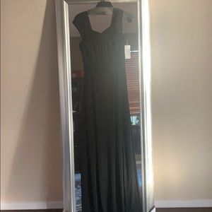 Black evening gown for prom or wedding. NWT